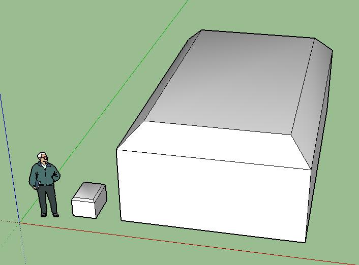 オブジェクトを面取りしたい【SketchUp】
