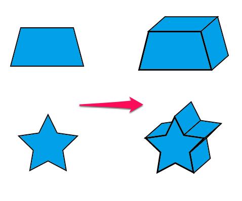 図形を簡単に立体的に【Illustrator】