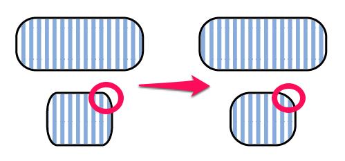 角丸のオブジェクトを変形したとき角丸の比率を崩したくない【Illustrator】