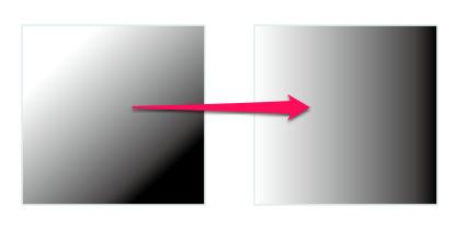 グラデーションをスポイトで取ると、角度が変わってしまう【Illustrator】