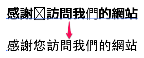 中国語を書こうとすると文字化けする【Illustrator】