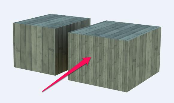 【SketchUp】レンダリングするとテクスチャが小さくなる