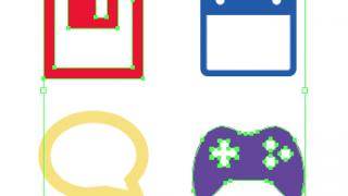選択したオブジェクト(グループ)を書き出しするスクリプト(jpg・gif・png)【Illustrator】